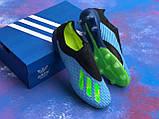 Бутсы Adidas X 18.1/ футбольная обувь без шнурков, фото 7