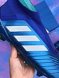 Бутсы Adidas Predator 18+FG/ копы адидас предатор с носком/без шнурков(реплика), фото 2