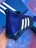 Бутсы Adidas Predator 18+FG/ копы адидас предатор с носком/без шнурков(реплика), фото 7