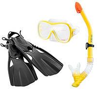 Комплект для плавания Wave Rider Sports Set, от 8 лет   Набор для подводного плавания
