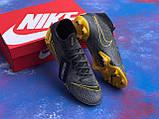 Бутсы Nike Mercurial Game Over/найк меркуриал гейм овер(реплика), фото 6
