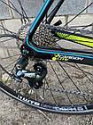 """Велосипед шоссейный Battle 7C""""-510mm WINDRIDER 3.0 графит, фото 2"""