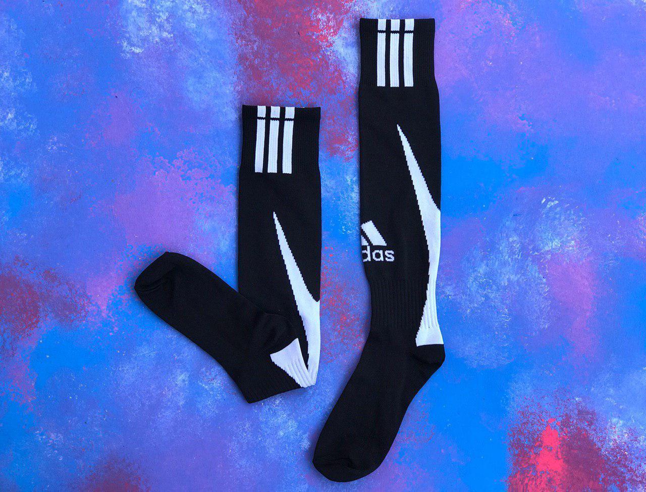 Гетри для футболу Adidas (Чорні)