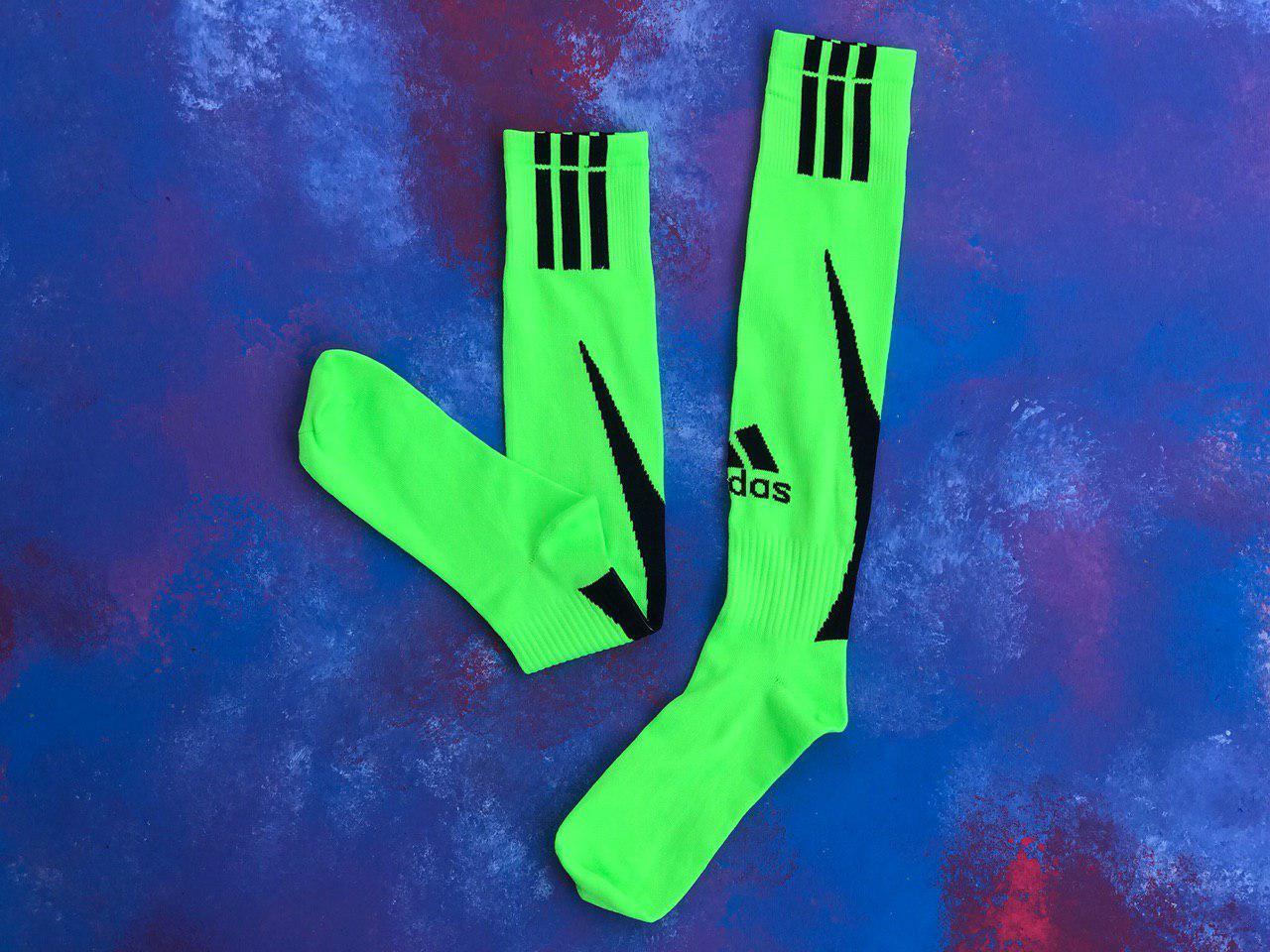 Гетри для футболу Adidas (Салатові)