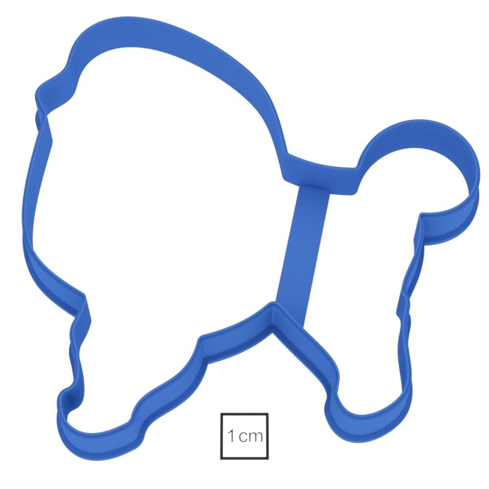 Висічка для пряників у вигляді собачки