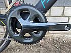 """Велосипед шоссейный Battle 7C""""-510mm WINDRIDER 3.0 графит, фото 4"""