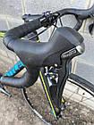 """Велосипед шоссейный Battle 7C""""-510mm WINDRIDER 3.0 графит, фото 7"""