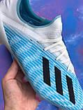 Бутси Adidas X 19.3 (футбольне взуття) адідас ікс, фото 3
