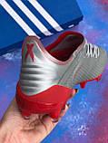 Бутси Adidas X 19.3 (футбольне взуття) адідас ікс, фото 7