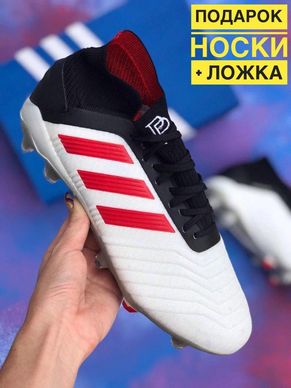 Бутси Adidas Predator 19+FG Paul Pogba(адідас предатор поль погба)