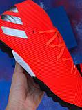 Стоноги Adidas Nemeziz 19.3 TF (адідас немезизи), фото 7
