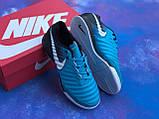 Футзалки Nike Tiempo / бампы найк темпо/футбольна взуття, фото 7