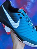 Футзалки Nike Tiempo / бампы найк темпо/футбольна взуття, фото 8