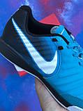 Футзалки Nike Tiempo / бампы найк темпо/футбольна взуття, фото 9