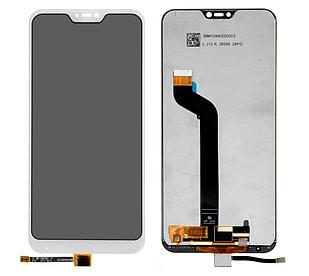 Модуль для Xiaomi Mi A2 Lite, Redmi 6 Pro, белый, дисплей + сенсор