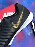 Футзалки Nike Legend X VII/ бампы найк темпо/футбольна взуття, фото 6