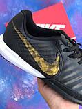 Футзалки Nike Legend X VII/ бампы найк темпо/футбольна взуття, фото 7