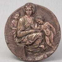"""Медальйон """"Марія з Ісусом"""" (22 см) (75383 A4)"""