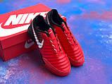 Футзалки Nike Legend X VII бампы найк темпо футбольна взуття, фото 2