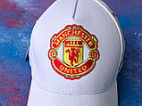 Бейсболка / кепка фк Манчестер Юнайтед/Manchester United/чоловіча/жіноча/біла, фото 5