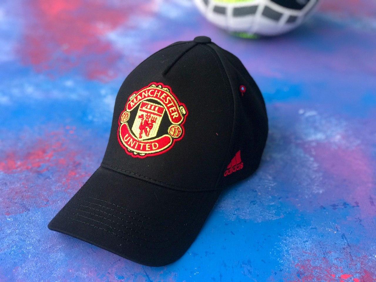Бейсболка / кепка фк Манчестер Юнайтед/Manchester United/чоловіча/жіноча/Чорна