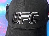 Бейсболка / кепка ЮФСи/UFS/чоловіча/жіноча/чорна, фото 5
