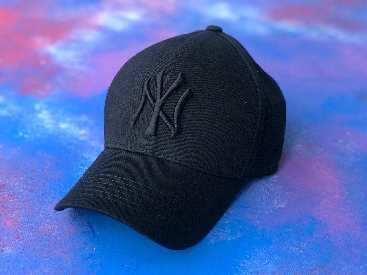 Бейсболка / кепка Янкі/NY Yankees/чоловіча/жіноча/чорна