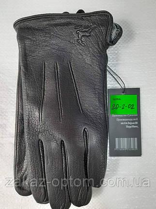 Мужские перчатки оптом кожа оленья(10,5-12,5)Румыния 20-2-02 -63202, фото 2