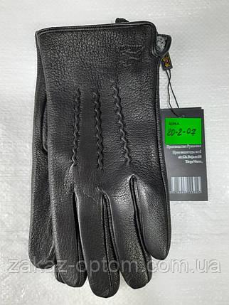 Мужские перчатки оптом кожа оленья(10,5-12,5)Румыния 20-2-07 -63203, фото 2