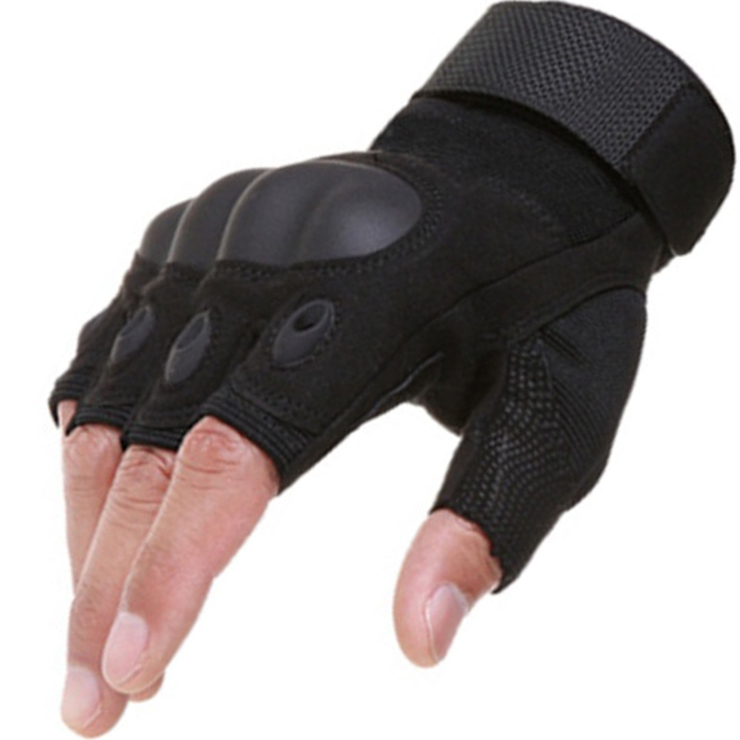 Перчатки тактические защитные. Военные рукавицы. Беспалые перчатки. Спорт. Туризм.