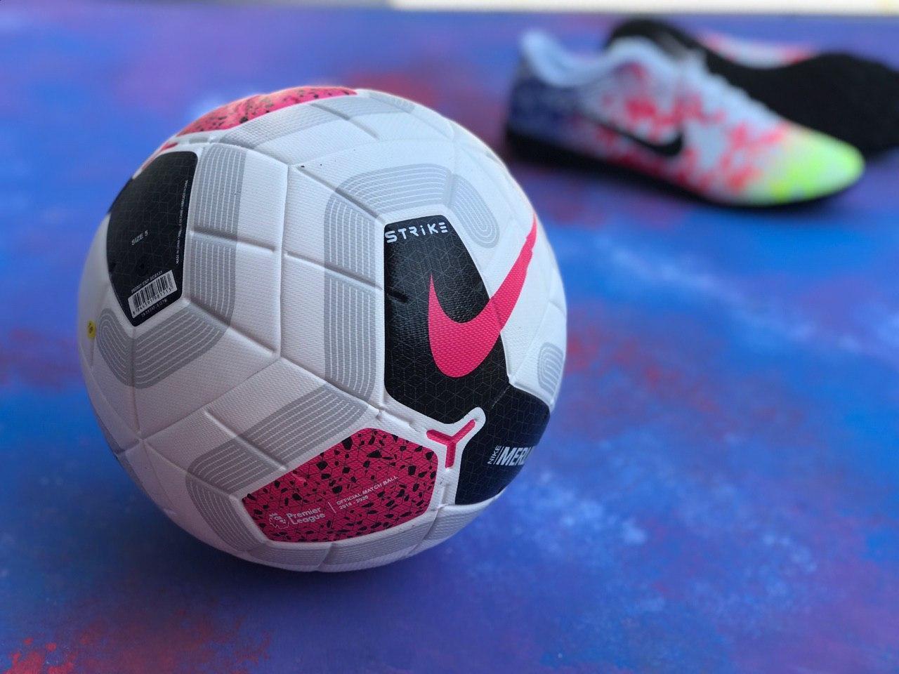 Футбольный мяч Premier League Merlin 2020 найк премьер лиги Англии для футбола