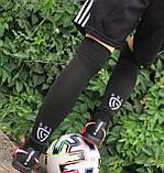 Футбольні гетри без носка + шкарпетки GUL(чорні)/комплект/обрізки/для футболу, фото 4