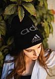 Шапка Adidas/ шапка адідас/ шапка жіноча \шапка чоловіча/шапка чорна, фото 3