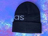 Шапка Adidas/ шапка адідас/ шапка жіноча \шапка чоловіча/шапка чорна, фото 5