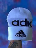 Шапка Adidas/ шапка адидас/ шапка женская \шапка мужская/шапка белая, фото 5