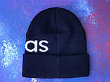 Шапка Adidas/ шапка адідас/ шапка жіноча \шапка чоловіча/шапка темно-синя, фото 5