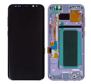 Модуль для Samsung Galaxy S8 Plus, Samsung G955, серый, дисплей + сенсор