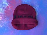 Шапка Philipp Plein/Шапка Филипп Плейн/Шапка мужская/шапка женская/шапка бордо, фото 4