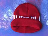 Шапка Philipp Plein/Шапка Філіп Плейн/Шапка чоловіча/шапка жіноча/шапка червона, фото 3