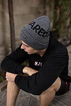 Шапка Dsquared2/Шапка Дискваред/шапка жіноча/шапка чоловіча/шапка сіра
