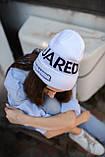 Шапка Dsquared2/Шапка Дискваред/шапка жіноча/шапка чоловіча/шапка біла, фото 2