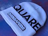 Шапка Dsquared2/Шапка Дискваред/шапка жіноча/шапка чоловіча/шапка біла, фото 3