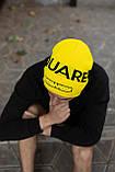 Шапка Dsquared2/Шапка Дискваред/шапка женская/шапка мужская/шапка жёлтая, фото 2
