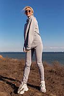 Спортивный женский модный костюм на флисе