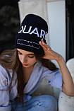 Шапка Dsquared2/Шапка Дискваред/шапка женская/шапка мужская/шапка темно-синий, фото 3