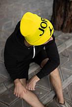 Шапка JORDAN/Шапка Джордан/шапка чоловіча/шапка жіноча/шапка жовта