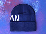 Шапка JORDAN/Шапка Джордан/шапка мужская/шапка женская/шапка синяя, фото 6