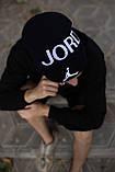 Шапка JORDAN/Шапка Джордан/шапка чоловіча/шапка жіноча/шапка ч'рная, фото 2