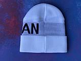 Шапка JORDAN/Шапка Джордан/шапка мужская/шапка женская/шапка белая, фото 4