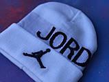 Шапка JORDAN/Шапка Джордан/шапка мужская/шапка женская/шапка белая, фото 5
